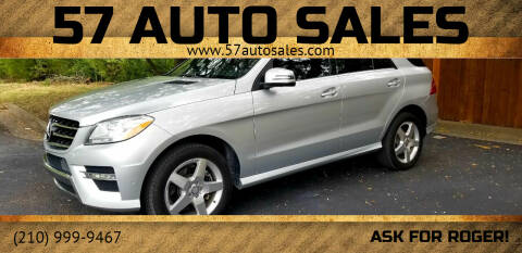 2015 Mercedes-Benz M-Class for sale at 57 Auto Sales in San Antonio TX