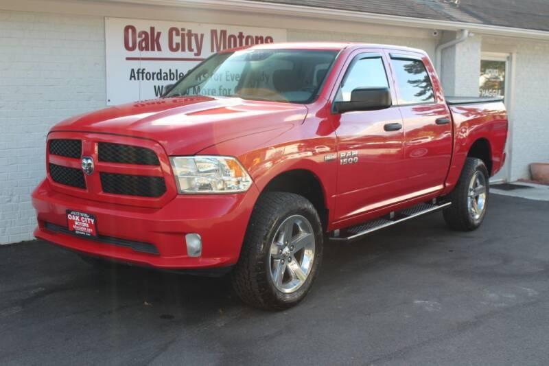 2014 RAM Ram Pickup 1500 for sale at Oak City Motors in Garner NC