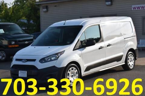 2016 Ford Transit Connect Cargo for sale at MANASSAS AUTO TRUCK in Manassas VA