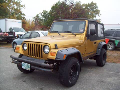 2003 Jeep Wrangler for sale at Frank Coffey in Milford NH