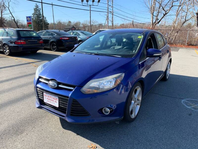 2012 Ford Focus for sale at Gia Auto Sales in East Wareham MA