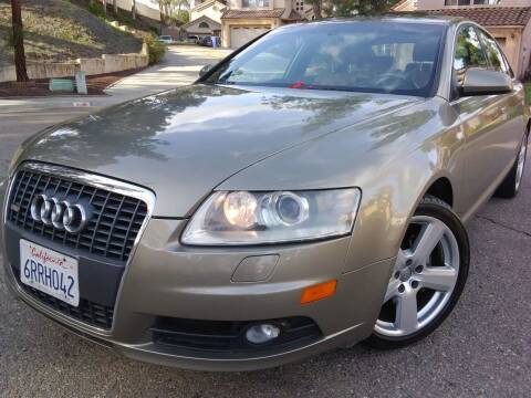 2008 Audi A6 for sale at Trini-D Auto Sales Center in San Diego CA
