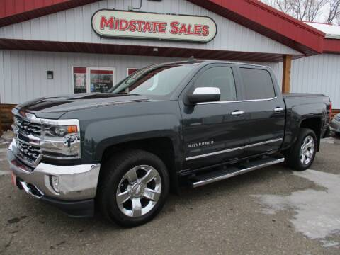 2017 Chevrolet Silverado 1500 for sale at Midstate Sales in Foley MN