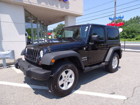 2011 Jeep Wrangler for sale at KING RICHARDS AUTO CENTER in East Providence RI