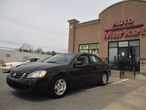 2003 Nissan Altima for sale at Auto Market in Oklahoma City OK