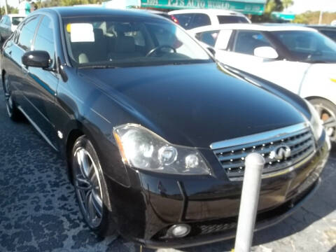 2007 Infiniti M45 for sale at PJ's Auto World Inc in Clearwater FL