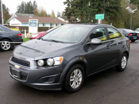 2013 Chevrolet Sonic for sale at Yellow Line Motors in Lafayette OR