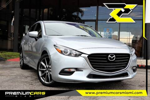 2018 Mazda MAZDA3 for sale at Premium Cars of Miami in Miami FL