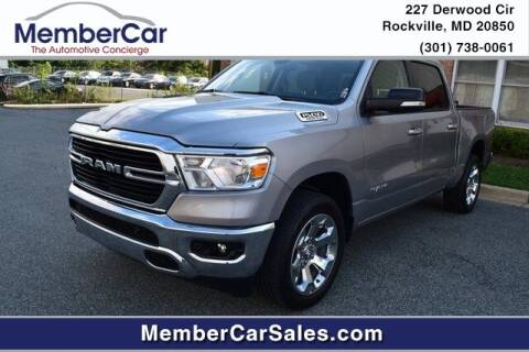 2020 RAM Ram Pickup 1500 for sale at MemberCar in Rockville MD