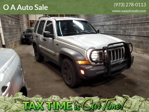 2005 Jeep Liberty for sale at O A Auto Sale in Paterson NJ