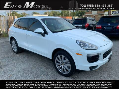 2017 Porsche Cayenne for sale at Empire Motors LTD in Cleveland OH
