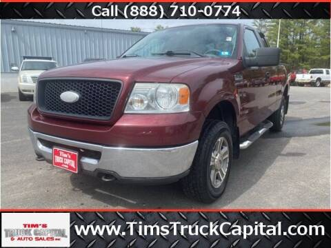 2006 Ford F-150 for sale at TTC AUTO OUTLET/TIM'S TRUCK CAPITAL & AUTO SALES INC ANNEX in Epsom NH