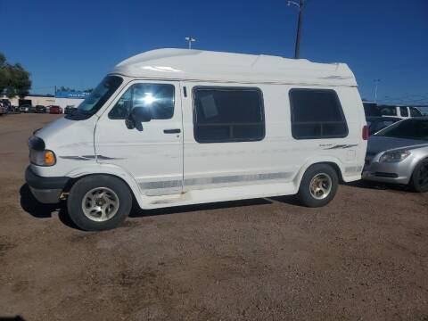 1996 Dodge Ram Van for sale at PYRAMID MOTORS - Fountain Lot in Fountain CO