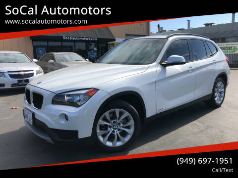2014 BMW X1 for sale at SoCal Auto Motors in Costa Mesa CA