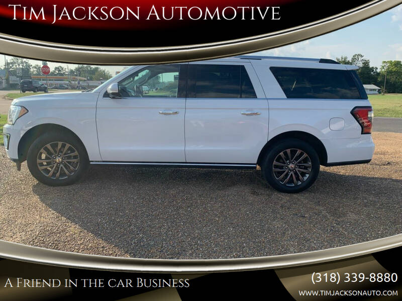 2020 Ford Expedition MAX for sale at Tim Jackson Automotive in Jonesville LA