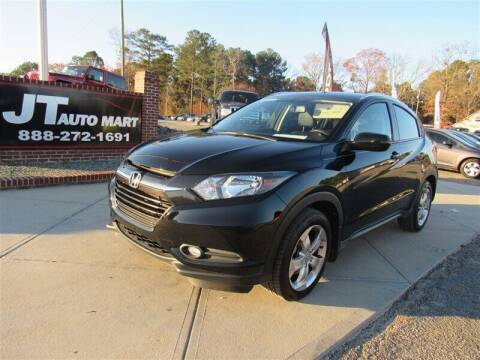 2016 Honda HR-V for sale at J T Auto Group in Sanford NC
