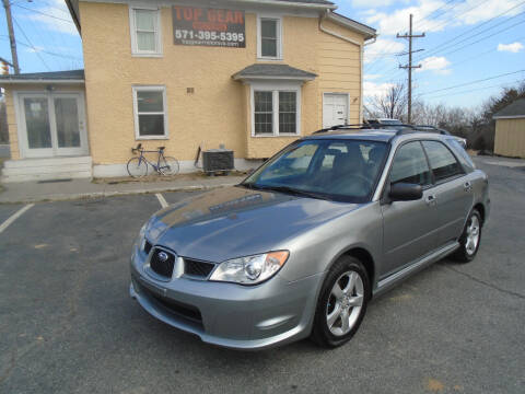 2007 Subaru Impreza for sale at Top Gear Motors in Winchester VA