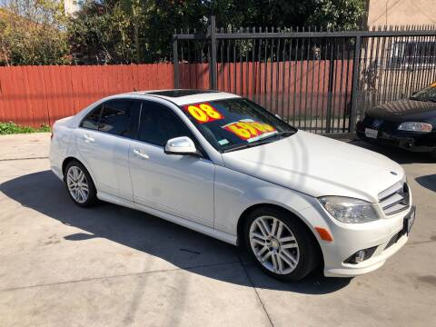 2008 Mercedes-Benz C-Class for sale at The Lot Auto Sales in Long Beach CA