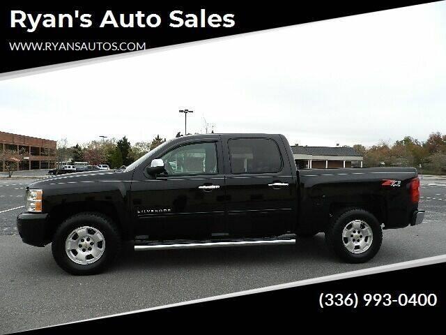 2011 Chevrolet Silverado 1500 for sale at Ryan's Auto Sales in Kernersville NC