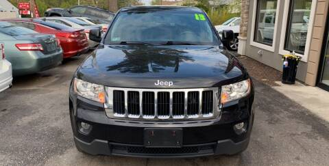 2013 Jeep Grand Cherokee for sale at Route 123 Motors in Norton MA