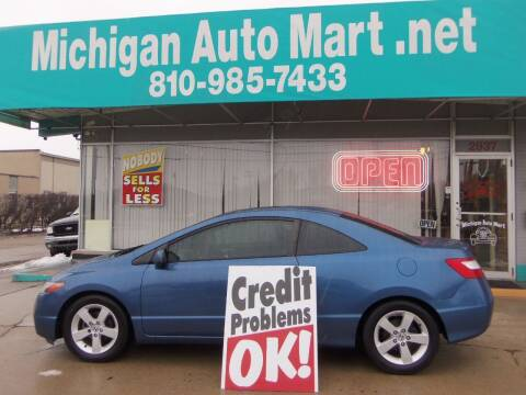 2006 Honda Civic for sale at Michigan Auto Mart in Port Huron MI