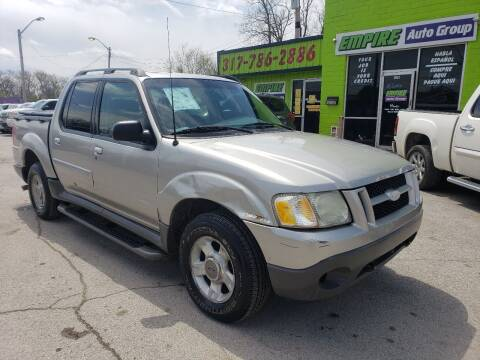 2003 Ford Explorer Sport Trac for sale at Empire Auto Group in Indianapolis IN