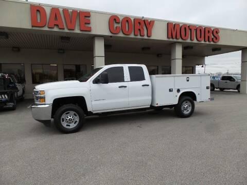 2017 Chevrolet Silverado 2500HD for sale at DAVE CORY MOTORS in Houston TX