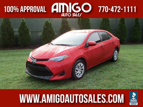 2018 Toyota Corolla for sale at Amigo Auto Sales in Marietta GA