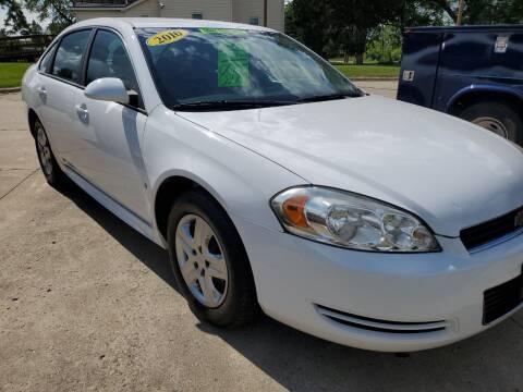 2010 Chevrolet Impala for sale at Kachar's Used Cars Inc in Monroe MI