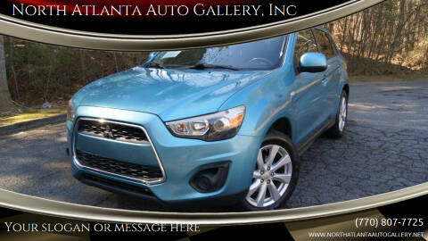 2013 Mitsubishi Outlander Sport for sale at North Atlanta Auto Gallery, Inc in Alpharetta GA