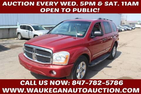 2006 Dodge Durango for sale at Waukegan Auto Auction in Waukegan IL