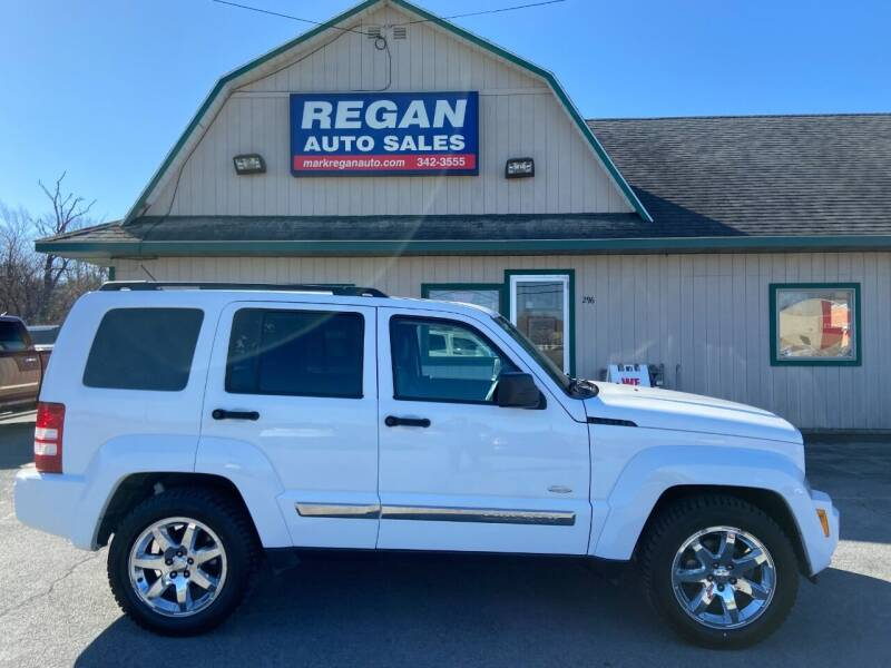 2012 Jeep Liberty for sale at Mark Regan Auto Sales in Oswego NY