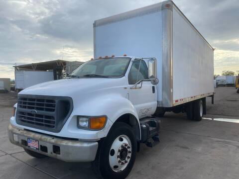 2002 Ford F-650 for sale at Ray and Bob's Truck & Trailer Sales LLC in Phoenix AZ