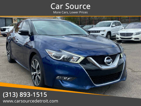 2016 Nissan Maxima for sale at Car Source in Detroit MI
