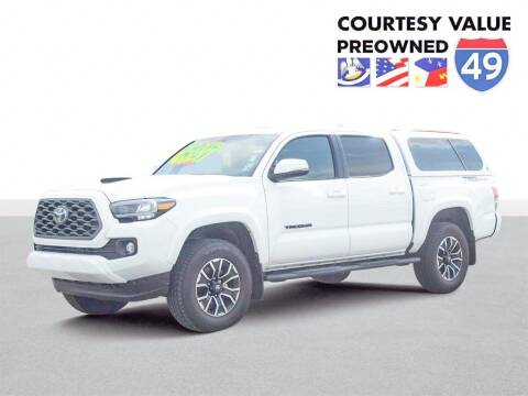 2021 Toyota Tacoma for sale at Courtesy Value Pre-Owned I-49 in Lafayette LA