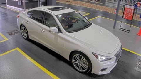 2018 Infiniti Q50 for sale at JOE BULLARD USED CARS in Mobile AL