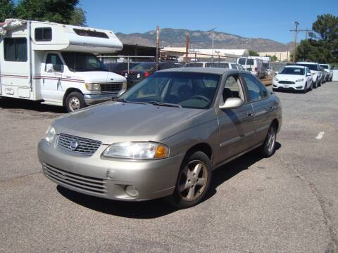 2003 Nissan Sentra for sale at One Community Auto LLC in Albuquerque NM
