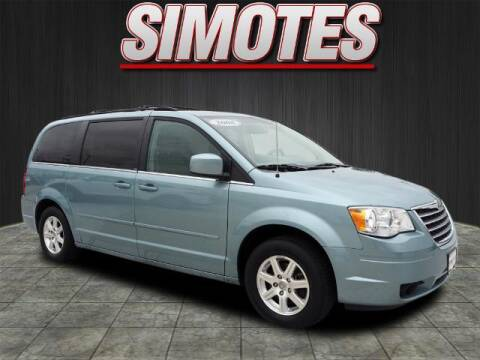 2008 Chrysler Town and Country for sale at SIMOTES MOTORS in Minooka IL