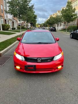 2012 Honda Civic for sale at Pak1 Trading LLC in South Hackensack NJ