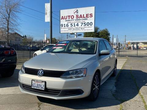 2011 Volkswagen Jetta for sale at A1 Auto Sales in Sacramento CA