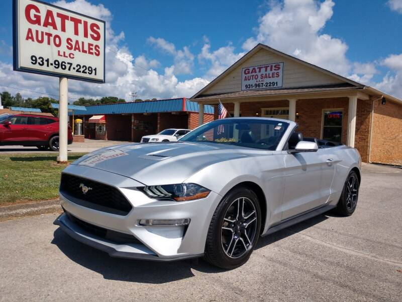 2019 Ford Mustang for sale at Gattis Auto Sales LLC in Winchester TN