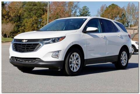 2018 Chevrolet Equinox for sale at WHITE MOTORS INC in Roanoke Rapids NC