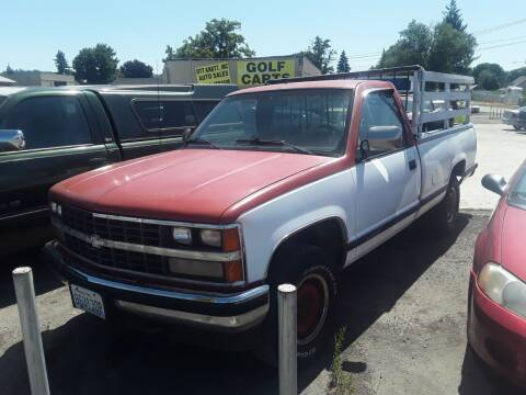 1988 Chevrolet C/K 1500 Series for sale at TTT Auto Sales in Spokane WA