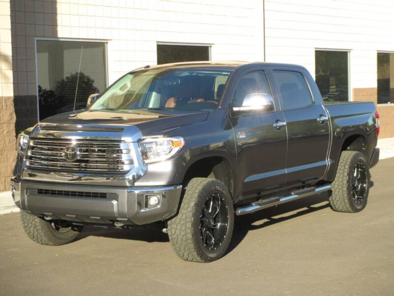 2019 Toyota Tundra for sale at COPPER STATE MOTORSPORTS in Phoenix AZ