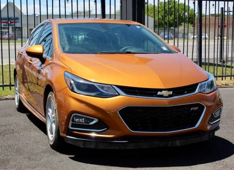 2017 Chevrolet Cruze for sale at Avanesyan Motors in Orem UT