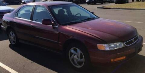 1997 Honda Accord for sale at D & J AUTO EXCHANGE in Columbus IN
