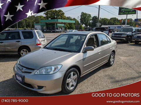2004 Honda Civic for sale at Good To Go Motors in Lancaster OH