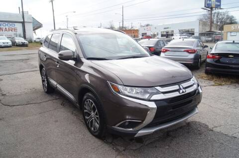 2016 Mitsubishi Outlander for sale at Green Ride Inc in Nashville TN
