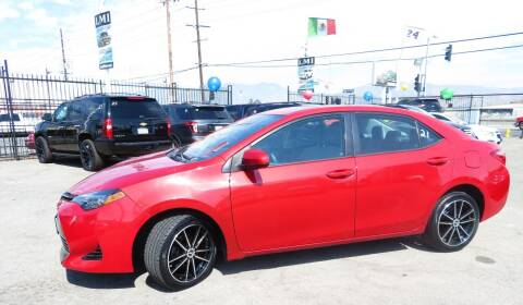 2017 Toyota Corolla for sale at Luxor Motors Inc in Pacoima CA