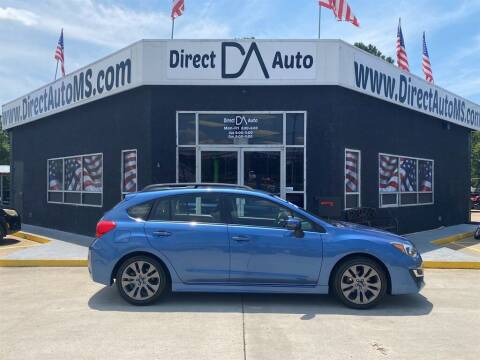 2016 Subaru Impreza for sale at Direct Auto in D'Iberville MS